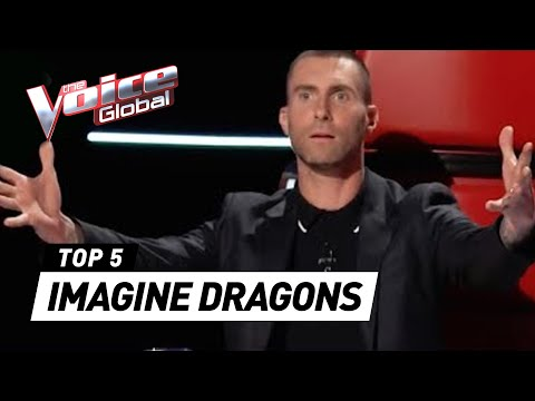 Cover Lagu IMAGINE DRAGONS in The Voice | The Voice Global STAFABAND