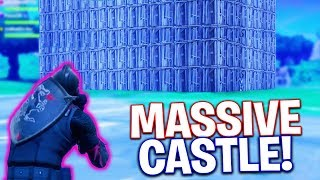 The Biggest Castle I Have Ever Built! Fortnite Battle Royale | Victory Royale