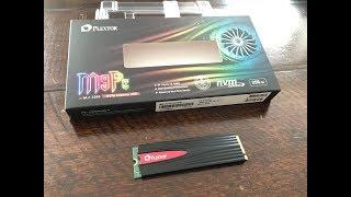 ✅Plextor M9PeG M.2 2280 NVMe 256GB SSD - 2018 Review