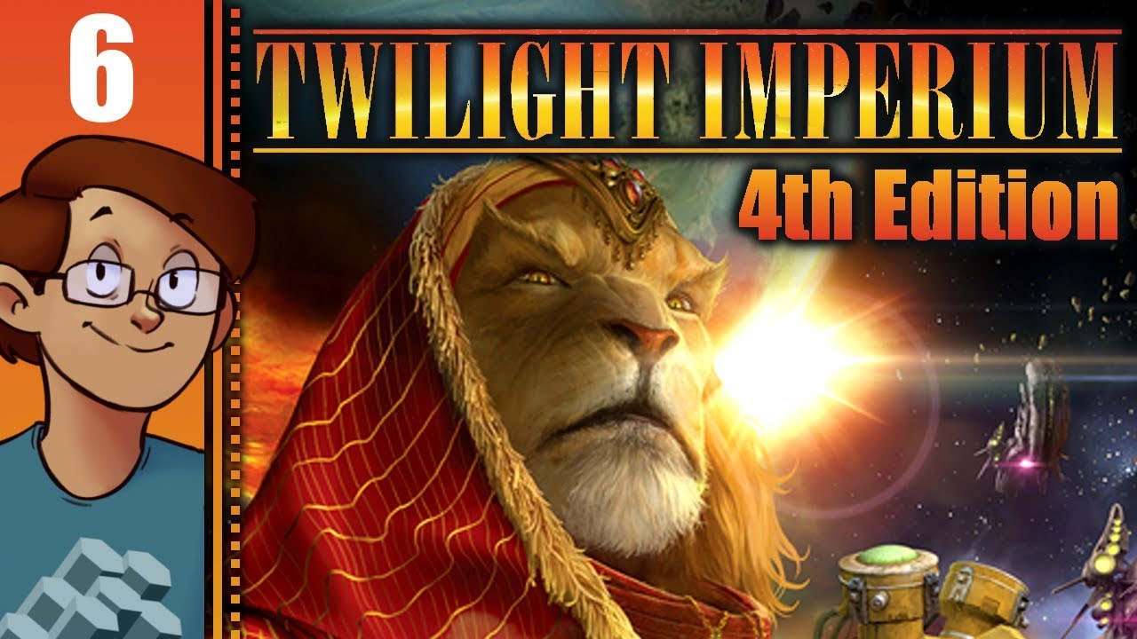 Let's Stream Twilight Imperium 4th Edition - Game 6 by Keith Ballard