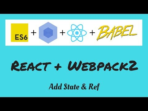 React add state & ref