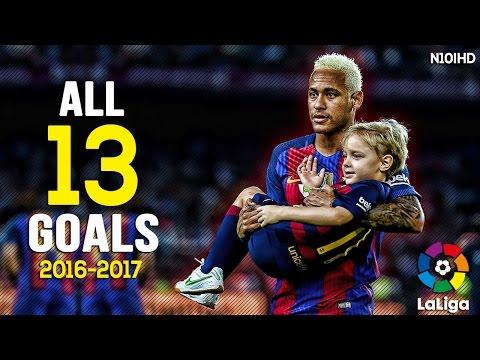 Neymar - All Goals 2017 | All 13 La Liga Goals ● 2016/2017 HD
