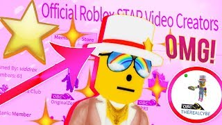 Ich GOT VERIFIED! Roblox Video Creator Top Hut ⭐ (DANKE!!!)