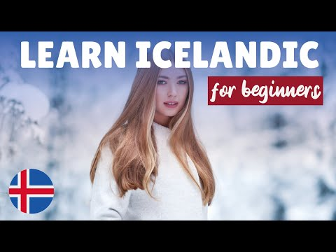 Learn Icelandic for beginners || Easy and common phrases in Icelandic || English/Icelandic