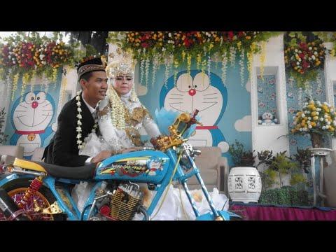 Pernikahan Tema Serba Doraemon Pekalongan