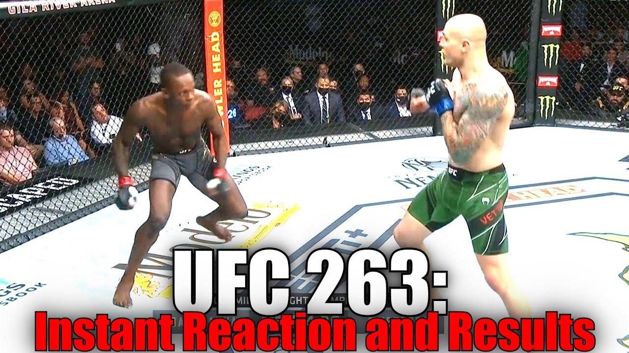 UFC 263 (Israel Adesanya vs Marvin Vettori 2): Reaction and Results