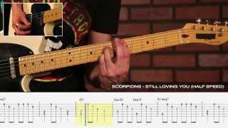 "How to Play ""Still Loving You"" by Scorpions - Legendary Riff #5"