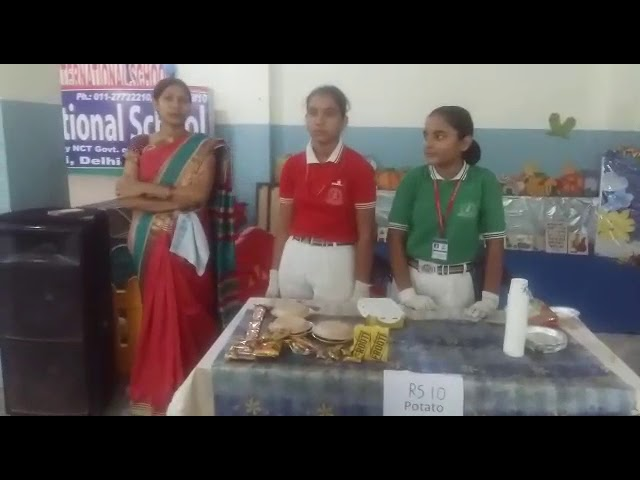 Diwali Mela at S S International school