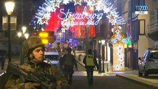 Terrore a Strasburgo:spari sulla folla a un mercatino di Natale: 3 morti e 13 feriti.Caccia all'uomo