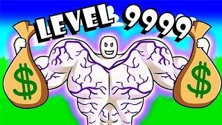 GETTING LEVEL 9999 MUSCLE dans Lifting Simulator! / Roblox