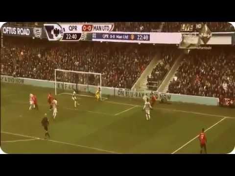 Rafael Da Silva Amazing Goal Manchester United vs QPR 2-0 Goals & Highlights 23/02/2013