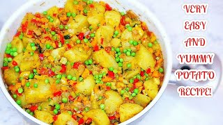 Potato recipe | Lazy night healthy dinner for you and family!