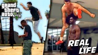 GTA 5 VS REAL LIFE TOP 2 ! (fun, fail, stunt, ...)