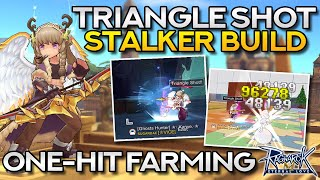 TRIANGLE SHOT STALKER GUIDE–ONE-HIT FARMING BUILD | Ragnarok Mobile Eternal Love