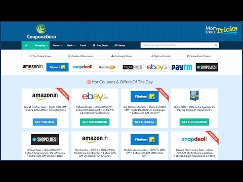 Amazon ebay Flipkart coupon codes free discount coupons