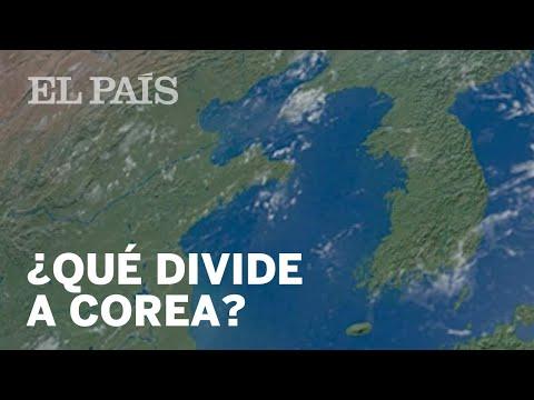 ¿Qué divide a las dos COREAS?