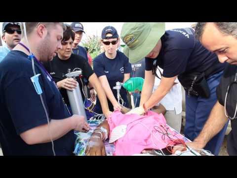 Haiti Medical Relief - Cardiac Arrest Patient (GRAPHIC)