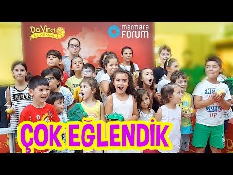 Mira ACAYİP Eğlenceli Deneyler Yaptı | Marmara Forum Keşif Treni | Eğlenceli Çocuk Videosu | UmiKids