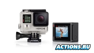 Возможности камеры GoPro HERO4 Silver