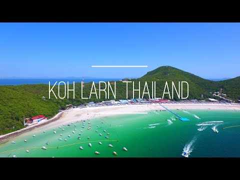 Koh Larn Pattaya Thailand 2017 By Drone 4K