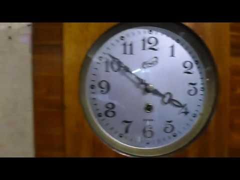 Часы настенные СССР  ОЧЗ Янтарь без боя