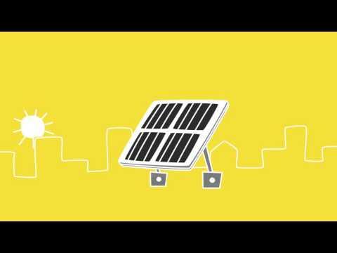 Explaining the idea behind bifacial solar panels