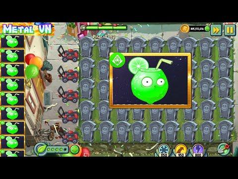 Download PVZ 2 Pinata Party 6/6/2020 | MetalVN | Team Plants vs Zombies 2 Max Level Power Up Version 8.1.1