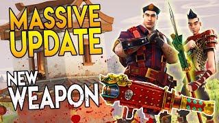 """New Legendary Weapons & Skins in Fortnite """"LUNAR EVENT, IMPULSE GRENADES, SHRINE"""" Battle Royale News"""