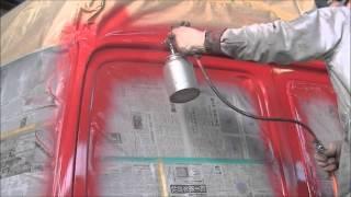 セミトレーラー 塗装・架装  SemiTrailer