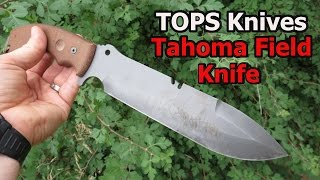 TOPS Tahoma Field Knife: The Extras Will Make Or Break It