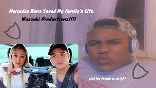 mercedes benz saved my familys life reaction