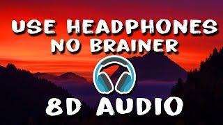 DJ Khaled, Justin Bieber - No Brainer (8D Audio) ft. Chance the Rapper, Quavo