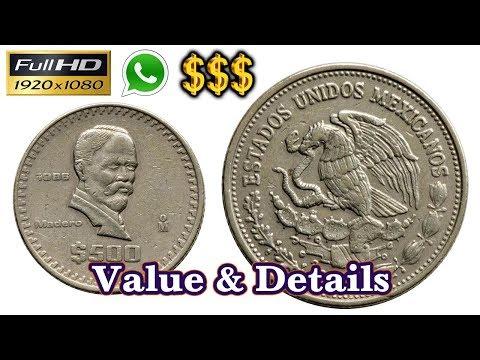 1988 Estados Unidos Mexicanos 500 Coin | Old Coins | Mexico | Old Coins Value Tamil | Antique Box