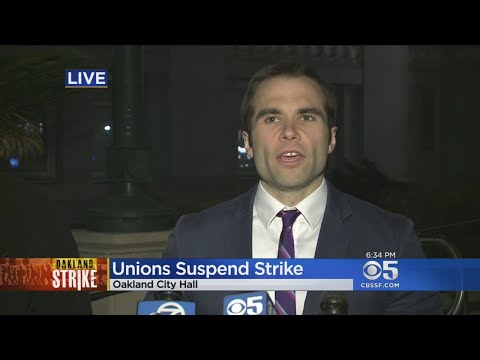 Oakland City Worker Representatives Announce Suspension Of Strike