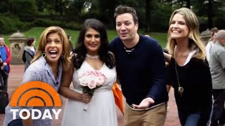 Jimmy Fallon Takes Savannah And Hoda On A Central Park Tour | TODAY