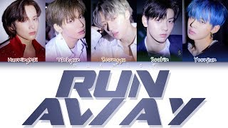TXT - Run Away (Color Coded Lyrics Eng/Rom/Han)
