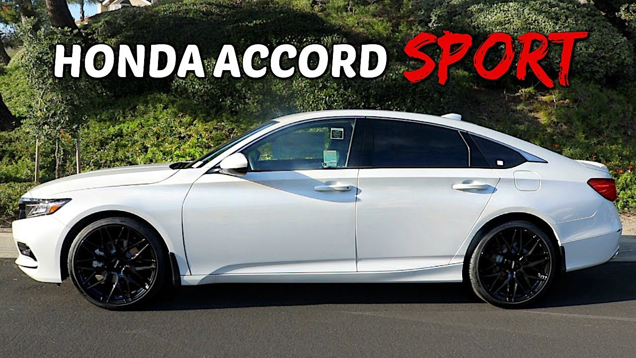 2019 honda accord sport black wheels window tint full review [ 1280 x 720 Pixel ]