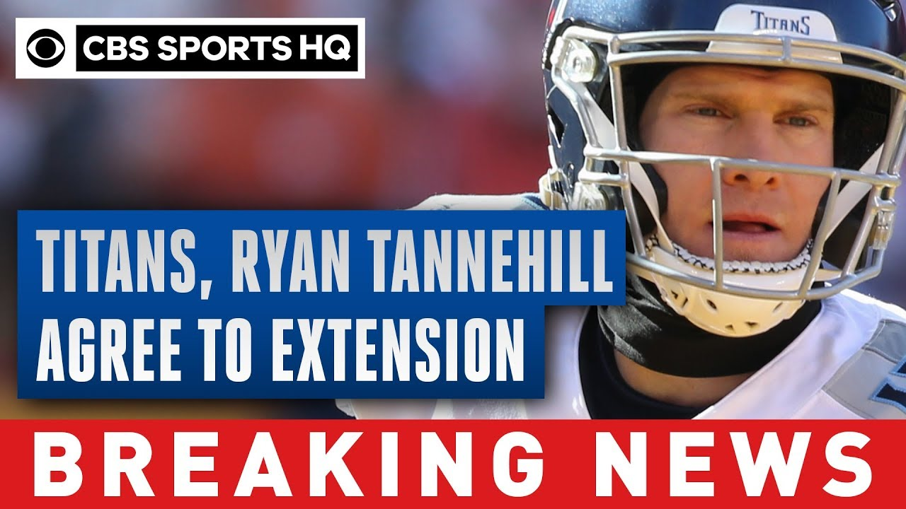 Ryan Tannehill, Titans agree on contract extension