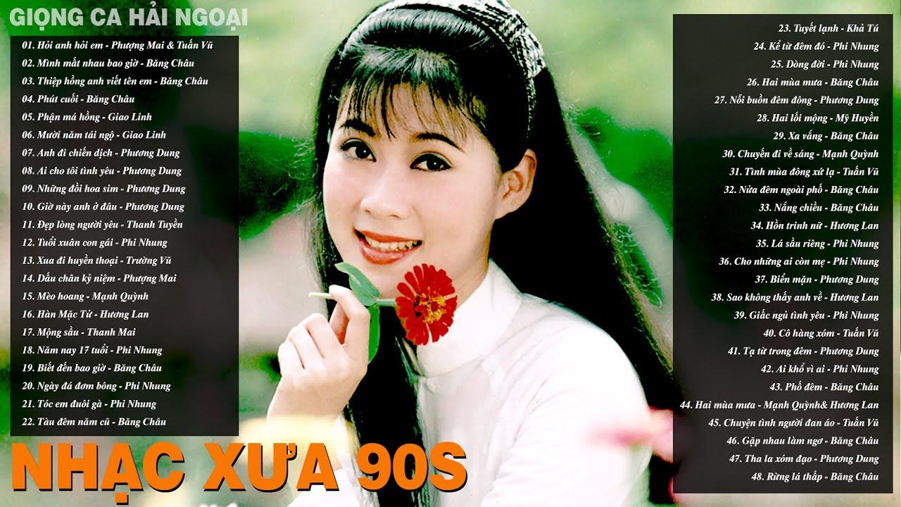 Nhạc Vàng Xưa Thập Niên 90s - HỎI ANH HỎI EM - Siêu Phẩm Hải Ngoại Xưa Bất Diệt Để Đời