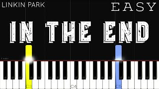 Download lagu Linkin Park - In The End | EASY Piano Tutorial