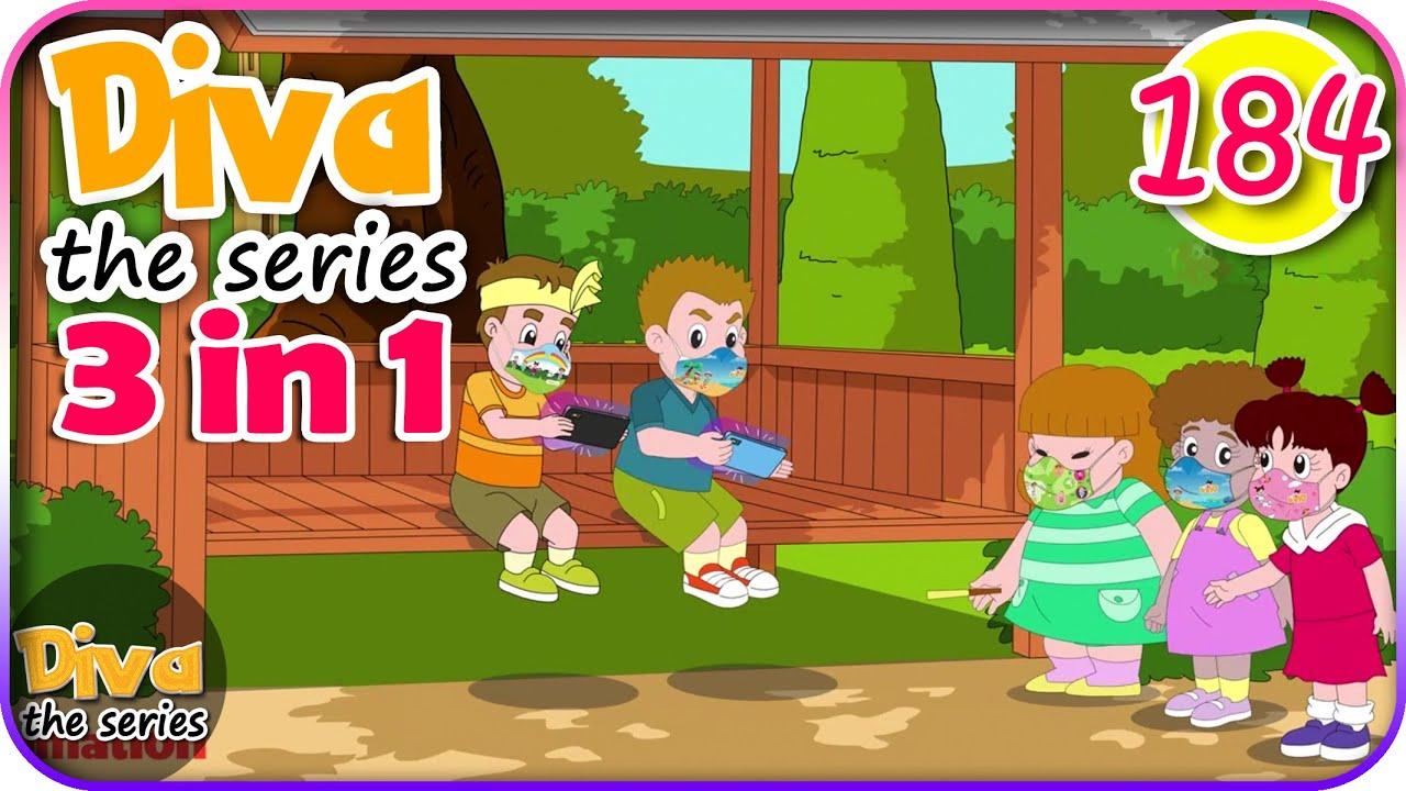 Seri Diva 3 in 1 | Kompilasi 3 Episode ~ Bagian 184 | Diva The Series Official