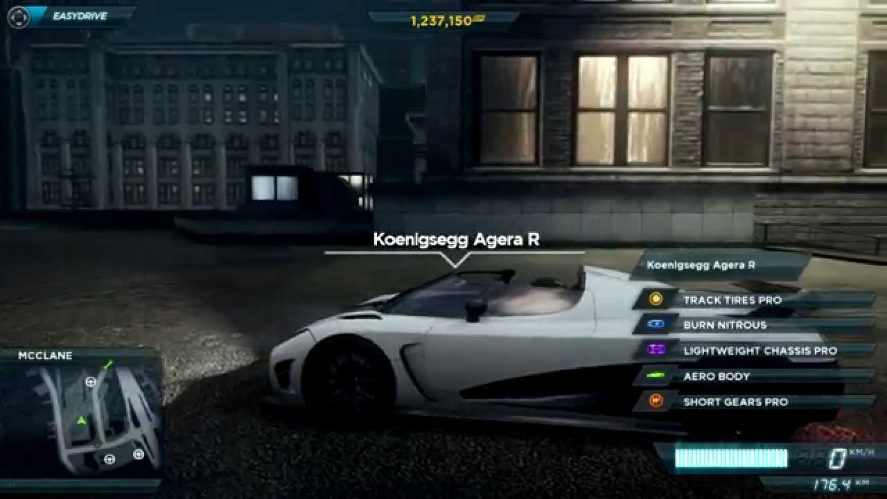 All Cars Of Need For Speed Most Wanted 2012 Hd Youtube