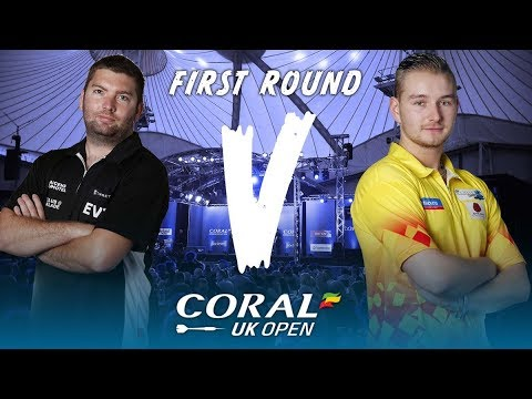 2018 Coral UK Open Darts Round 1 L.Evans vs van den Bergh