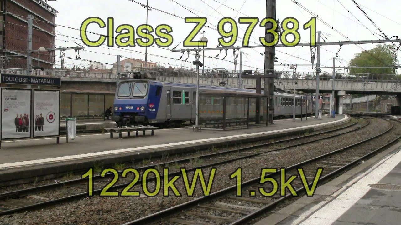 Toulouse Avignon Train Sncf In The South Of France Youtube