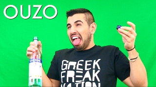 American Trying Ouzo for the First Time