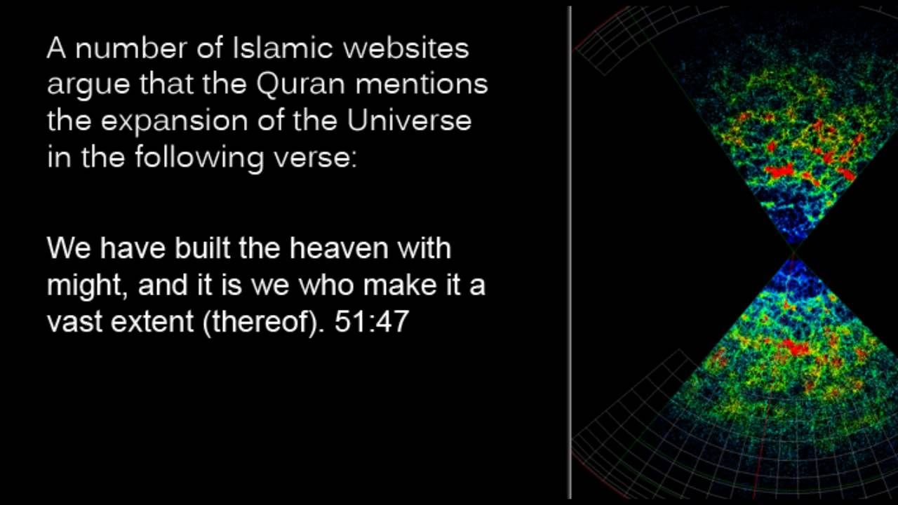 an analysis of the miracles of the quran related to the universe