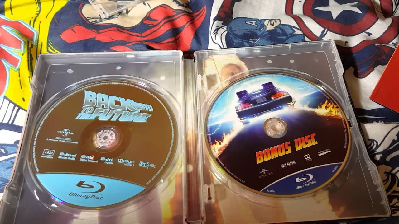 Target Steelbook: Back to the Future Trilogy