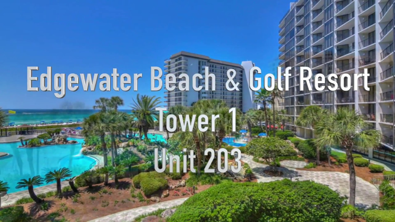 Vacation Al Edgewater Beach Golf Resort Tower 1 Unit 203 Panama City Fl