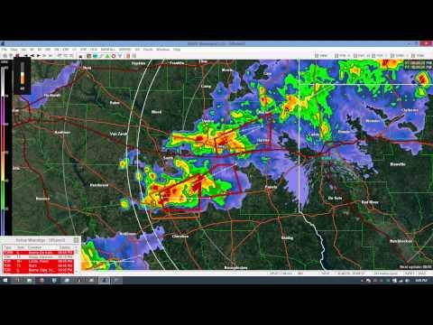 Tornado Warnings - EAS #1,282 - 1,312 - 4/9/15