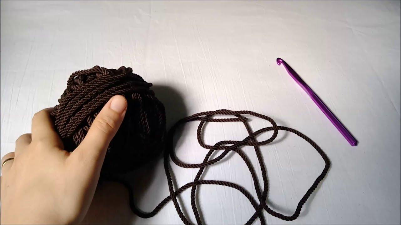 شنطة كروشية مكرمية بسيطة وعملية | crochet macrame bag